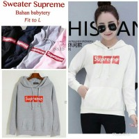 147751 sweater hoddie supreme wrna tantra 57.000 Bahan babytery fit to