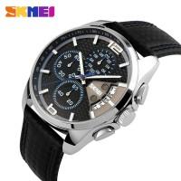 SKMEI Watch 9106 Original Water Resistant 50M - Black