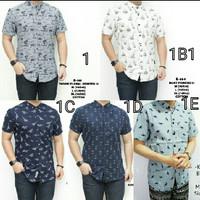Baju Kemeja Pria Songket Batik Hitam Keren Gaya Trendy