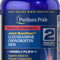 Triple Strength Glucosamine, Chondroitin & Msm Joint Soother 90 Caps