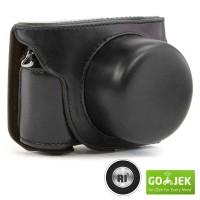 Nikon 1 J5 Leather Bag / Case / Tas Kulit Kamera Mirrorless
