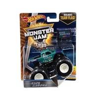 Hot Wheels Monster Jam King Krunch w/ Team Flag (1:64)