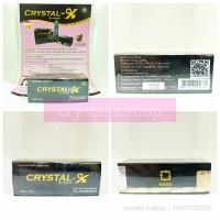 Crystal X ori, tidak ASLI uang KEMBALI 100%, Garansi PATAH.!!!