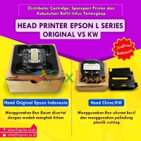 Head Printer Epson L110 L210 L300 L350 Original (NEW) Murah