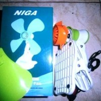 Fan Kipas angin listrik jepit di dinding duduk 250 mm NIGA mini fan M