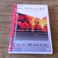 Eric Martin - Mr. Vocalist A Special Night In Tokyo Japan CD + DVD Set
