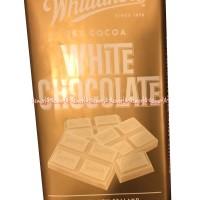 Whittakers White Chocolate 200gr menggunakan resep susu lembut