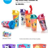 Tupperware My little Pony Tumbler/Gelas Plastik/Gelas Tupperware