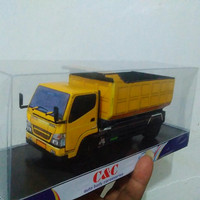 Pajangan Interior Miniatur Dump Truck