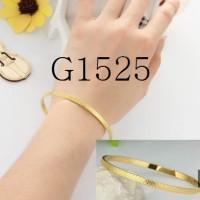 Gelang Wanita Warna Emas,G76 (kalung bros anting cincin berlian)