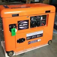 genset silent honda 6 kva 5000 watt 1 phase bensin gratis ongkir