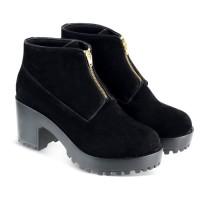 Kulit Super premium - Sepatu Boots wanita Artis panggung pesta JKc ori