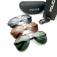 Kacamata Hitam Gaya Pria Police Lensa Polar Aviator 0aa26dedbe