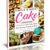 buku resep simple moist cake tintin rayner murah best seller