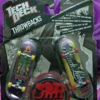 mini skate finger board tech deck throwbacks black label