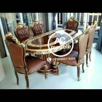 Set kursi makan ganesha meja gendong