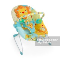 Bright Starts Jubilant Jungle Bouncer Music & Vibrate T2909