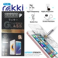 Rakki Premium Tempered Glass Protector for Samsung Galaxy  C5 PRO.