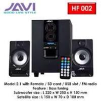 Harga speaker computer 2 1 speaker laptop speaker javi advance duo 200   Pembandingharga.com