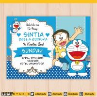 Jual Undangan Doraemon Di Sumatera Selatan Harga Terbaru