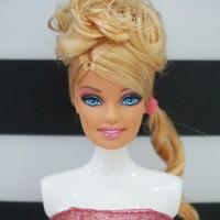Kepala Barbie Fashionistas Swappin' Styles: Glam