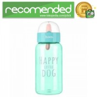 HOCO CP6 Botol Minum Happy Little Dog 450ml - Hijau