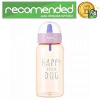 HOCO CP6 Botol Minum Happy Little Dog 450ml - Pink