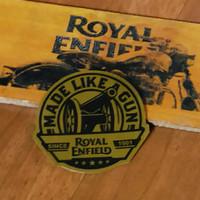 Stiker MLG Royal Enfield