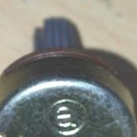 S4745 B10K Mono Potensiometer Alpha Original KODE YT4745