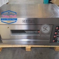 Oven Gas Roti GETRA 2 Loyang Stainless RFL-12SS