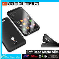 Case Xiaomi Redmi Note 3 / Note 3 Pro Casing Hp Slim BackCase Cover