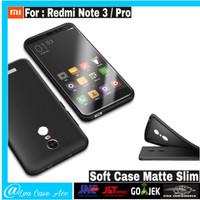Case Xiaomi Redmi Note 3 / Note 3 Pro Casing Hp Slim BackCase Cover