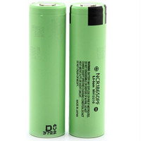 Battery 18650 2900mAh 3.6V Flat Top High Drain Hybrid IMR NCR18650