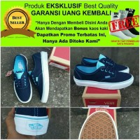 Rare Product Sepatu Sneakers Wanita Vans Authentic Multipop Black Radi