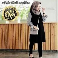 Baju Atasan Wanita Baju Murah Muslim Blus Tunik Hijab Kode HS55001