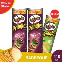 [Buy 2 Get 1] Pringles Barbeque 110g Free Sour Cream & Onion 110g