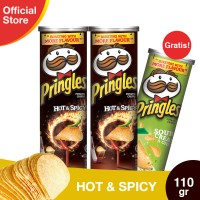 [Buy 2 Get 1] Pringles Hot & Spicy 110g Free Sour Cream & Onion 110g