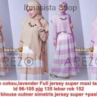 Baju Gamis / Fashion Wanita / Baju Muslim Gamis Jubah Koko Maroko  Ara
