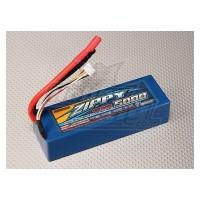 ZIPPY 5000MAH 3S 11.1V 30C HARDCASE LIPO PACK