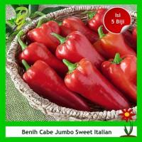 Benih Cabe Jumbo Sweet Italian Pepper - Isi 5 Biji