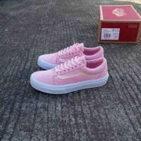 sepatu casual wanita vans old skool pink DT