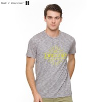 Salt n Pepper T-Shirt Pria SNP 035 - Grey