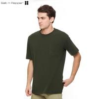 Salt n Pepper T-Shirt Pria SNP Kashite - Green