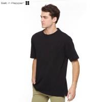 Salt n Pepper T-Shirt Pria SNP Takeshi - Black