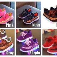 Sepatu Sekolah Anak Lampu / LED Sport V2 sz 21-30