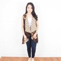 A20732 De Voile Cardigan Batik Wanita Wasima FB Out
