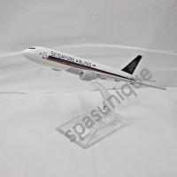 Pajangan Miniatur Diecast Pesawat SINGAPORE AIRLINE