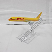 Pajangan Miniatur Diecast Pesawat DHL