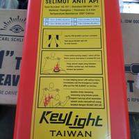 selimut anti api merk keylight 1,2x1,2m