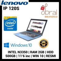 LENOVO IDEAPAD 120S - 3SID RAM 2GB HDD 500GB WIND 10